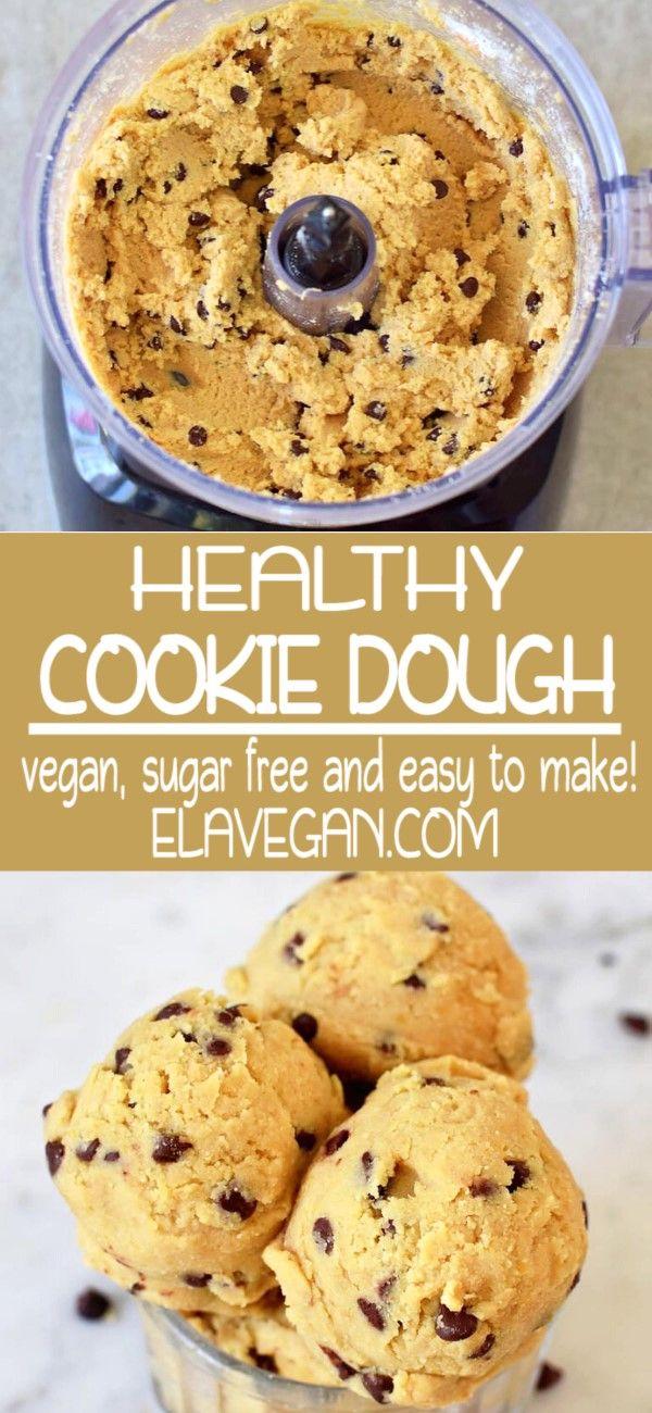 Edible Vegan Cookie Dough