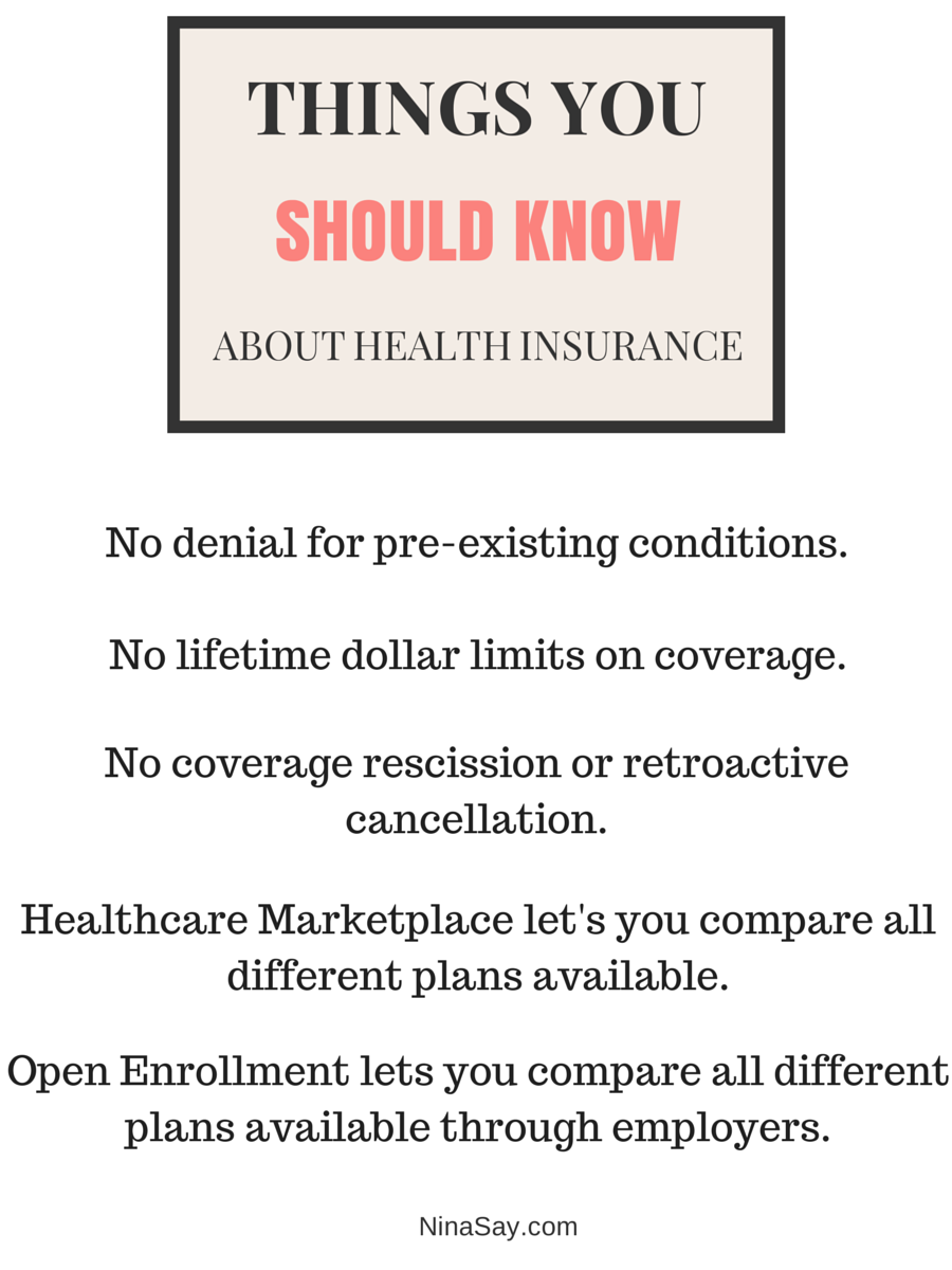 Why Health Insurance Matters To You Nina Says Health