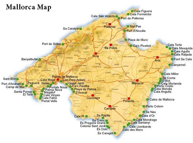 MallorcaSpanyolorszg SpainSpanyolorszg E Pinterest