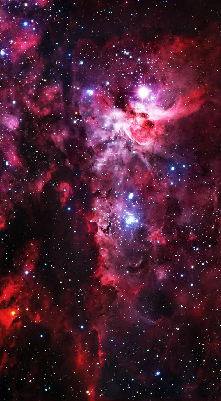 Purple galaxy custom box wallpaper by emilyxpeppy - Purple space wallpaper ...