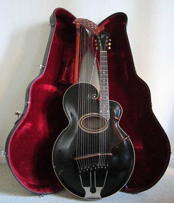 Gibson 1915 Style U Harp Guitar - Gibson Pre-War Guitars, Kevin Mark Designs
