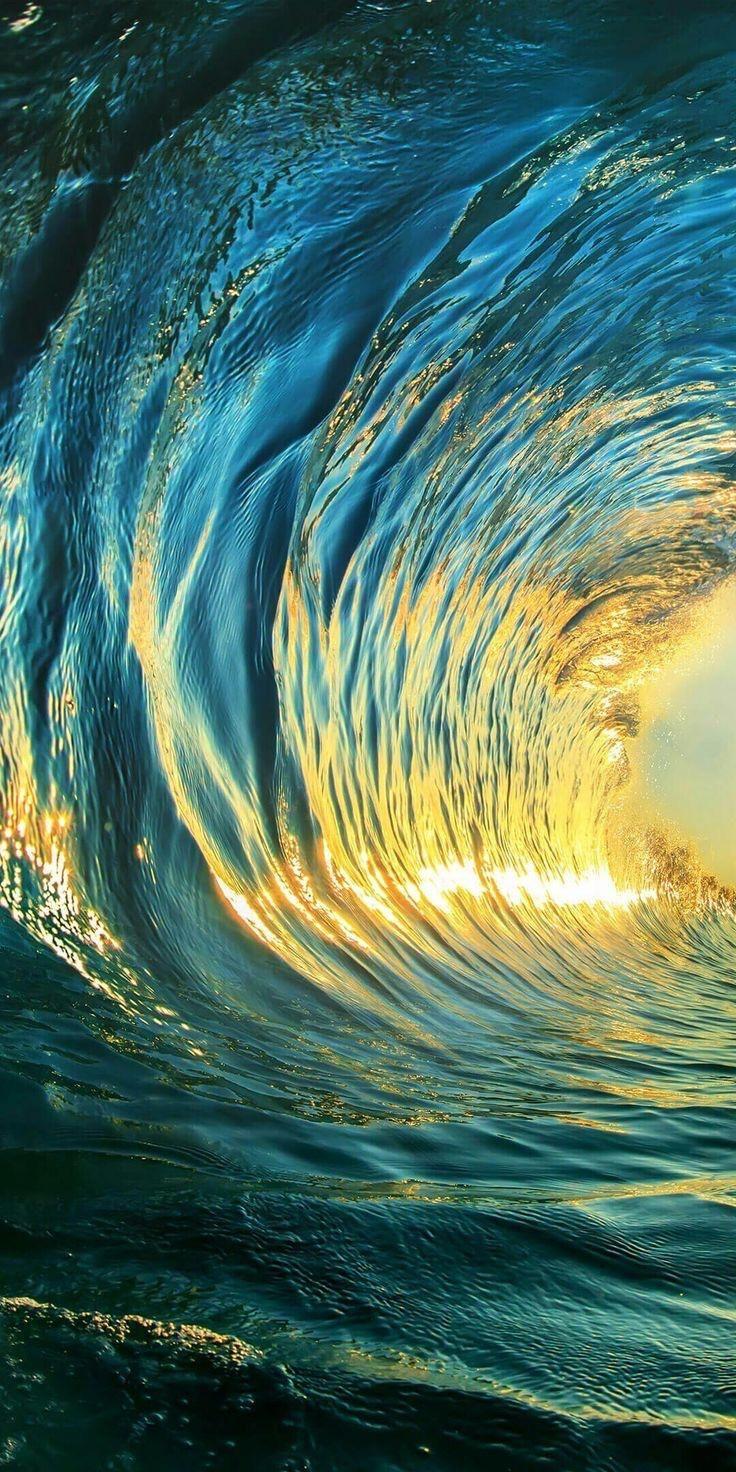 Wave Wallpaper. Waves wallpaper, Huawei wallpapers, Wave art