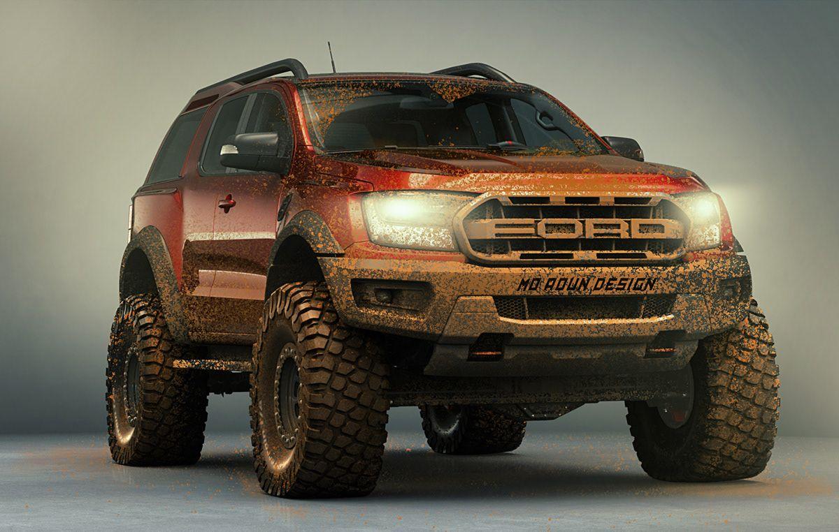 Bronco Raptor 2021 On Behance
