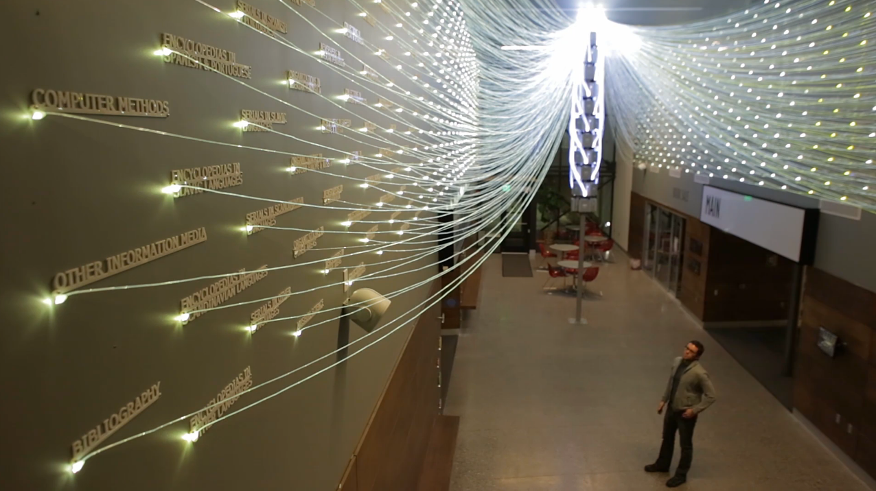 Mive Fiber Optic Installation Lights Up Library Queries
