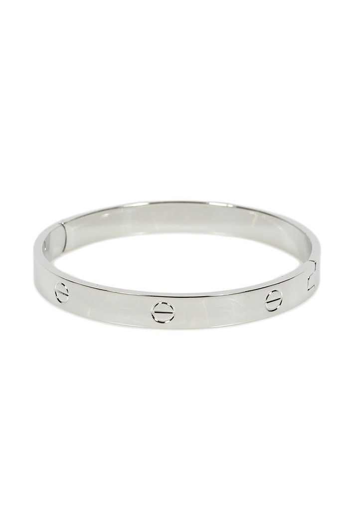 2cf8f1dfa5d517 I have this Cartier LOVE bracelet knock off, and I love it! (Comes in rose  gold and silver too). 20% OFF with the code PTMTJAN through 02/01!
