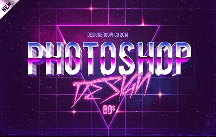 80 S Style Text Mockups Retro Text Text Effects 3d Text Effect