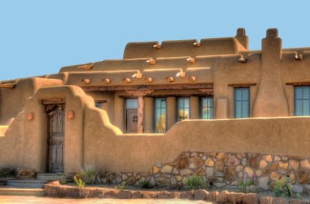 Pueblo style homes google search pueblo southwest style pinterest southwest decor - Pueblo adobe houses property ...
