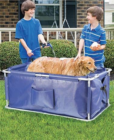 Portable Pet Bath Dog Bath Tub Dog Grooming Tubs Dog Bath