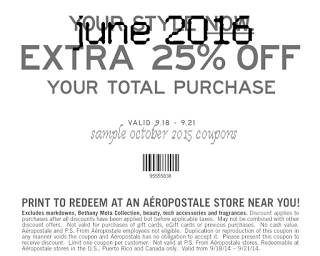 20 off aeropostale coupon codes amp printable coupons 2019 - 701×562