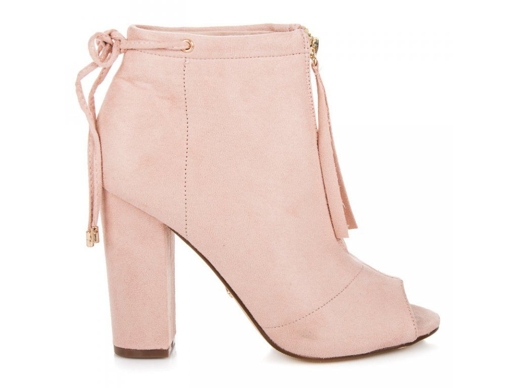8b7fca501a7b Ružové topánky open toe Seastar