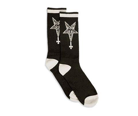 Sixth Seal // Knit Socks // Black at actual pain