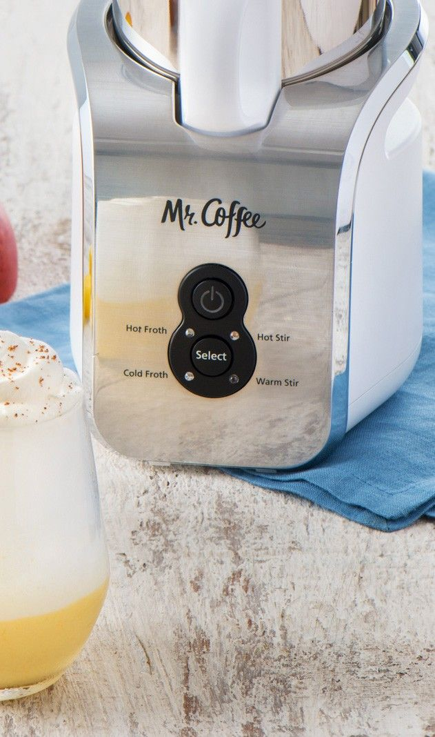 """I couldn""""t imagine making a better tasting Mango Lassi without a Mr. Coffee Milk Frother. New recipe to try!! Mango drinks"""