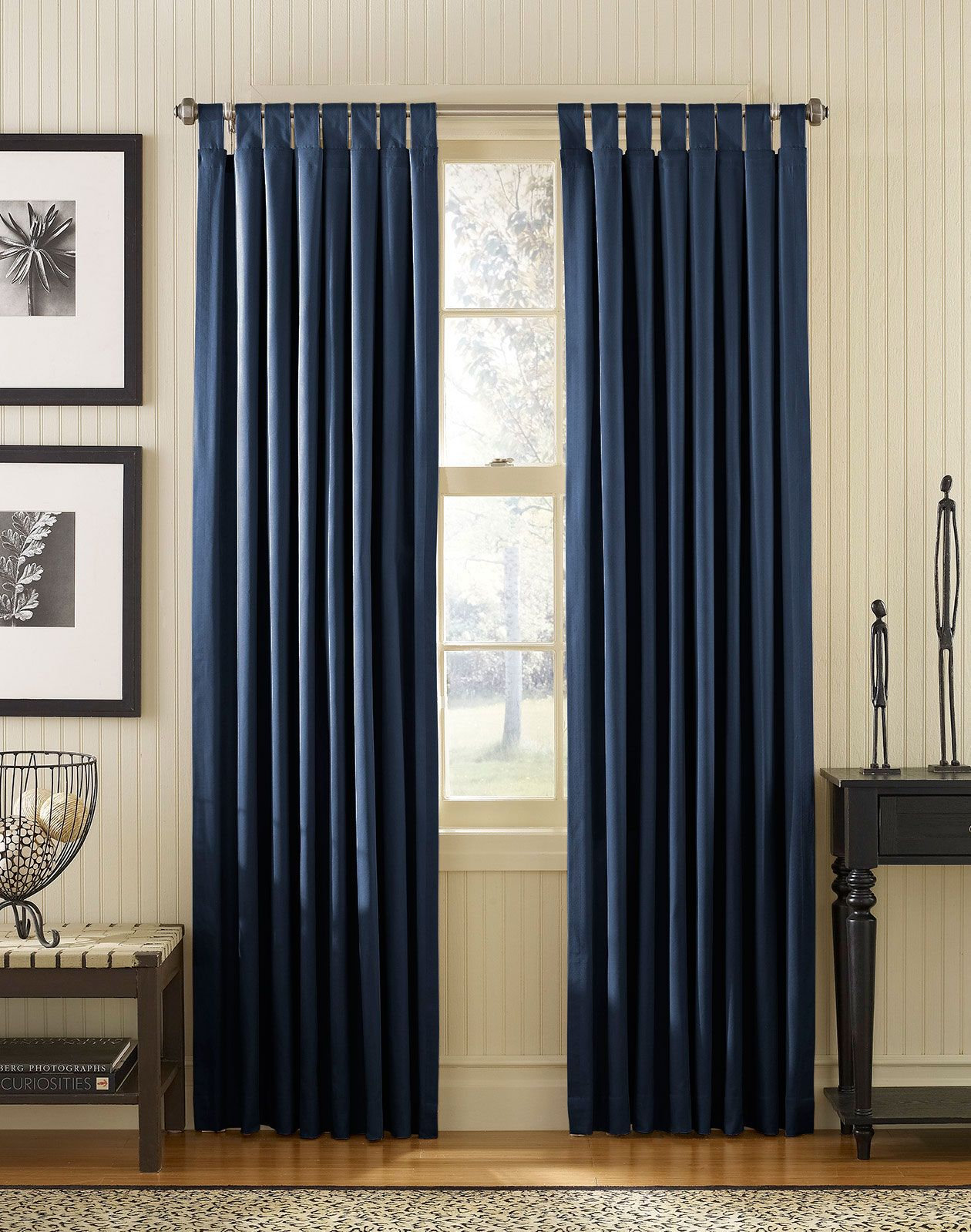 Exceptional Blue Bedroom Curtain Ideas