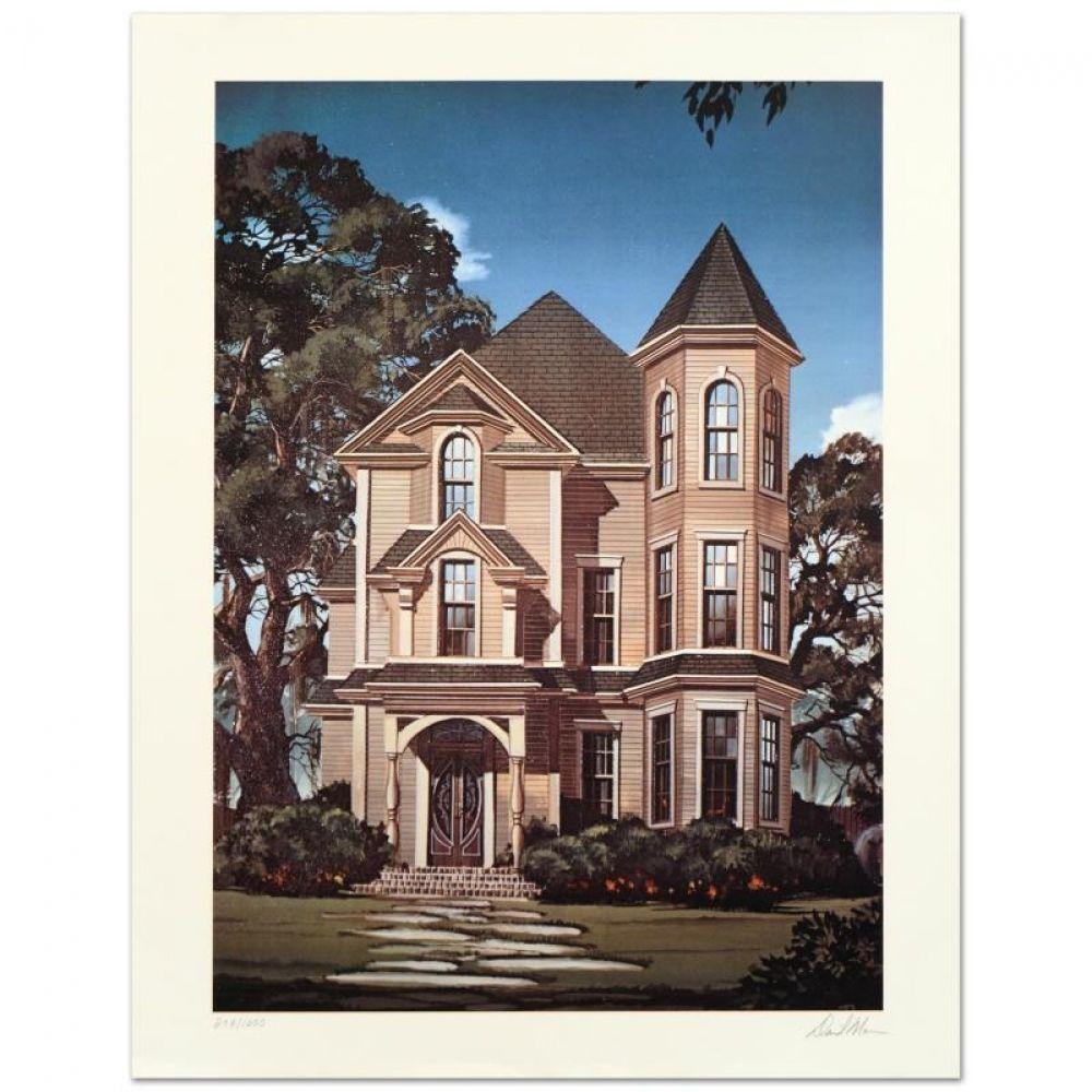 David mann 19402004 gothic house limited edition