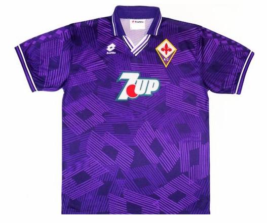 Soccerjerseyparadise Cn Cheap Retro Fiorentina 1992 1993 Home Soccer Jersey Classic Football Shirts Retro Football Shirts Football Shirts