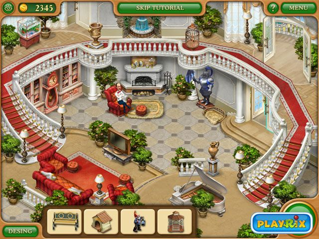 Gardenscapes Mansion Makeover Free Game Full Version Games Gaming Decor Discount Interior Doors Waterfall House
