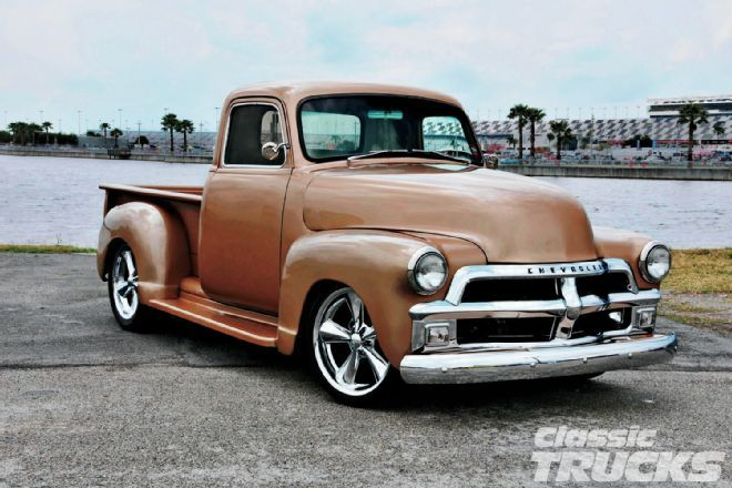 1954 Chevy 3100 Back From The Brink Classic Trucks Magazine