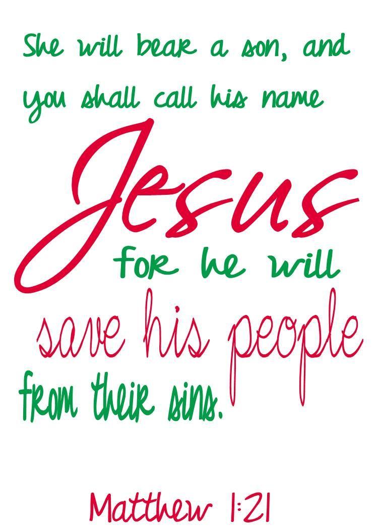 my bible verse christmas