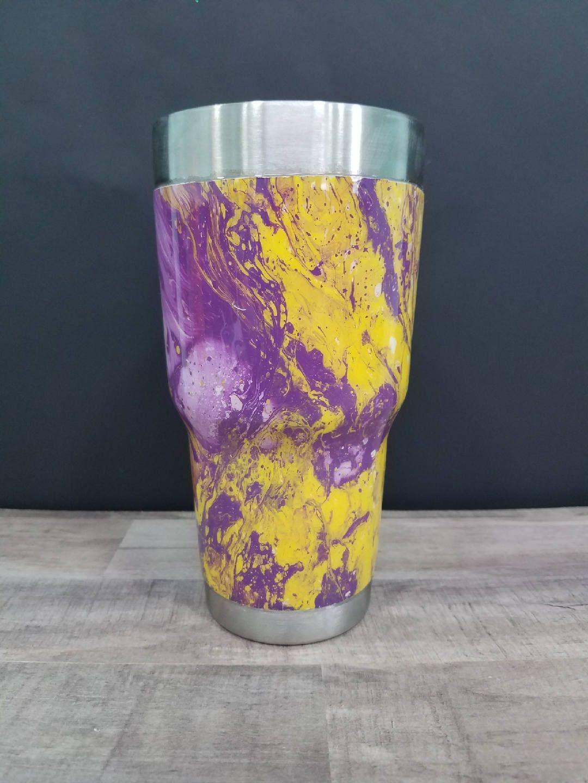 Hydro dipped / Swirl dipped / Yeti tumbler / Yeti painted tumbler ...