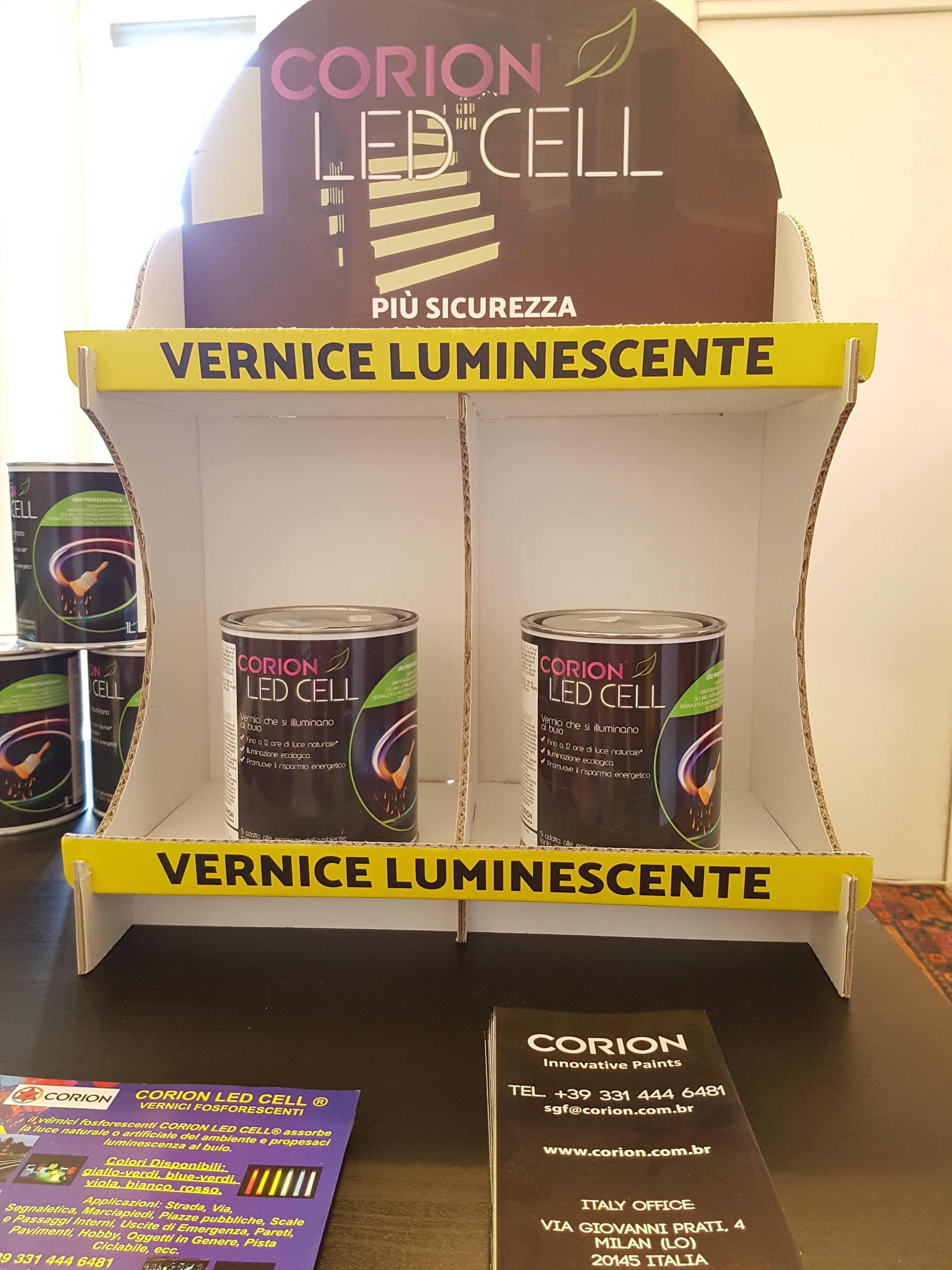 Vernici Ecologiche Per Interni corion led cell® vernice luminescente - base acqua | vernici