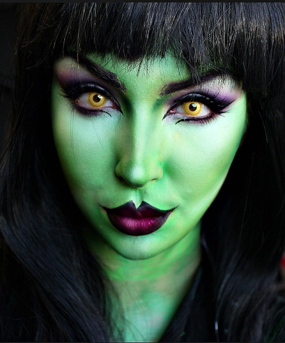 Witch Makeup I wore for 'Children in Need' 💀💚 imagens