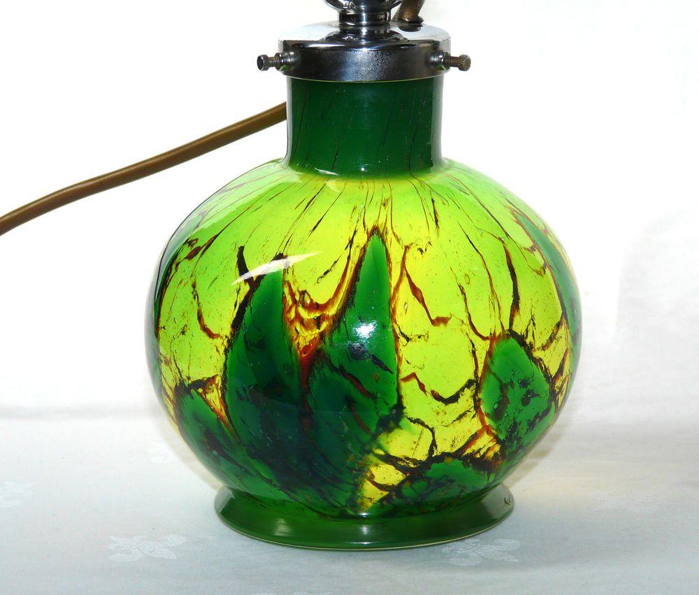 Wmf Ikora Glas Art Deco Tischlampe Lampe 30er Jahre Table Lamp Glass Wiedmann In Antiquitaten Kunst Design Stil 1920 1949 A Tischlampen 30er Jahre Lampe