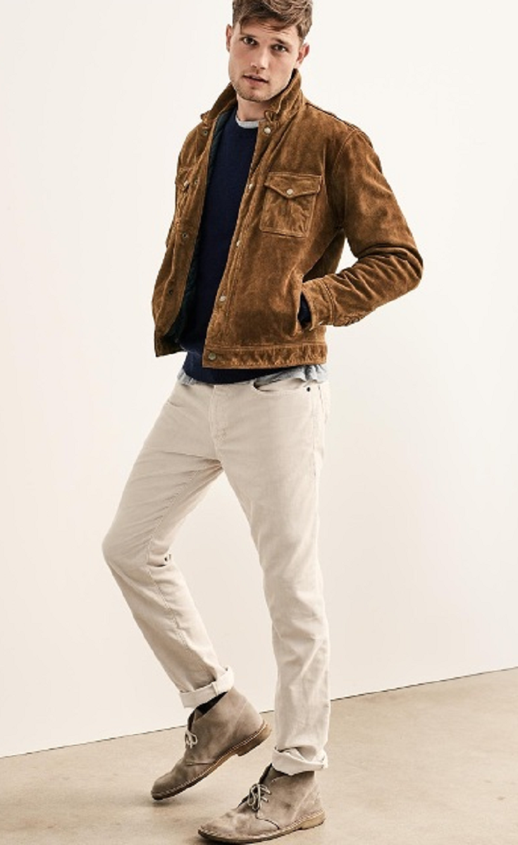 24 Suede Jacket Outfits For Stylish Men