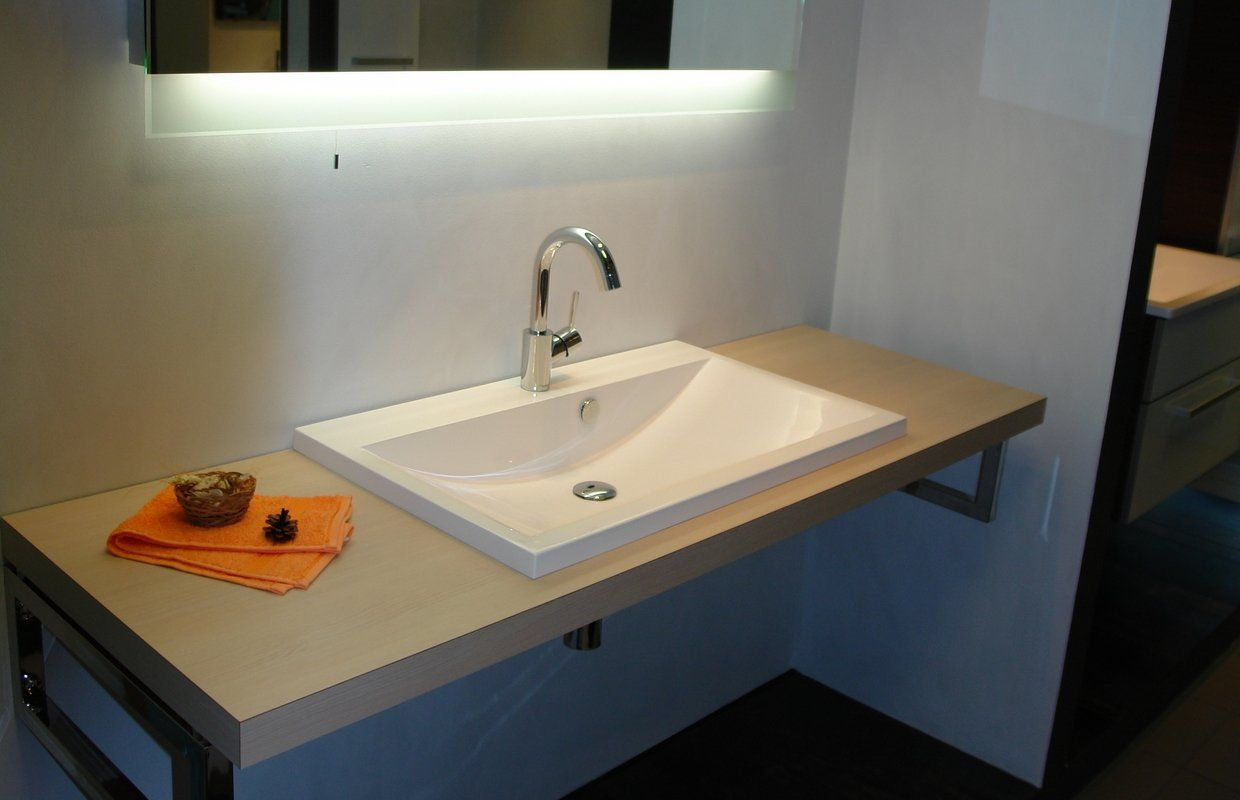 Counter Top Washbasin Made Of Ecomarmor A Glossy Gel Coated