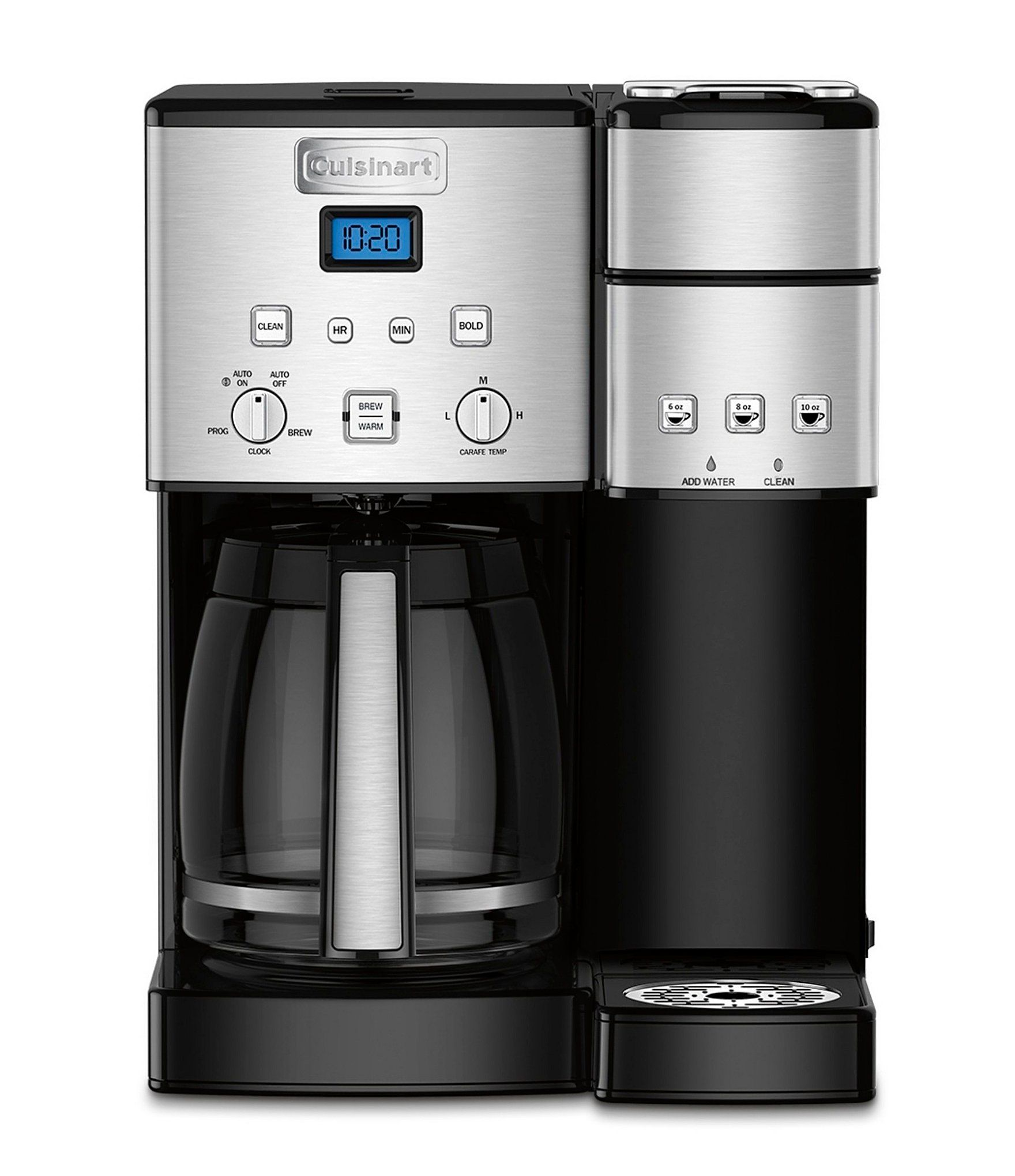 Cuisinart Coffee Center 12 Cup Coffee Maker Single Serve Brewer Dillard S Cuisinart Coffee Maker Stainless Steel Coffee Maker Single Coffee Maker