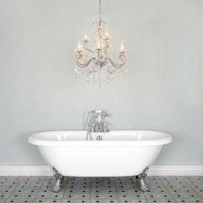 Luxurious Bathroom Chandeliers Uk  Lighting  Pinterest  Light New Bathroom Chandelier Inspiration Design
