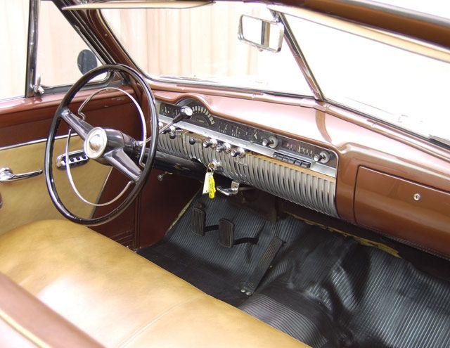 A 1951 Mercury Convertible Dash View Mercury Convertible Classic Cars