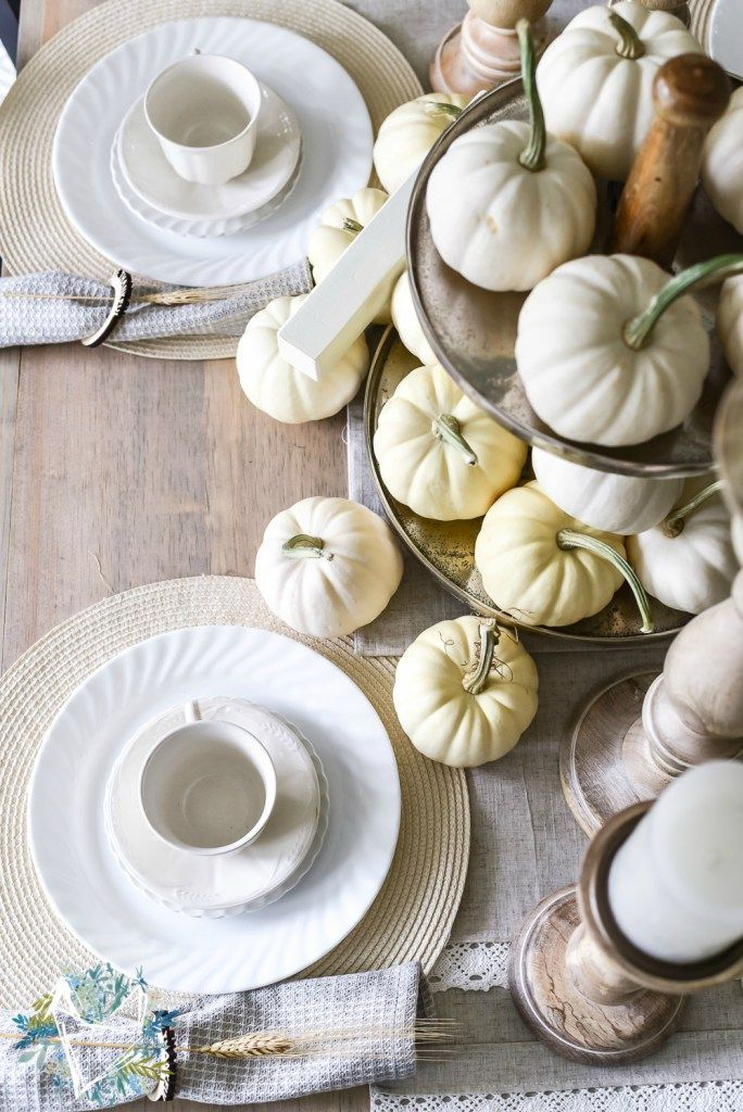 15 Thanksgiving Tablescape Ideas - Thanksgiving Table Decor