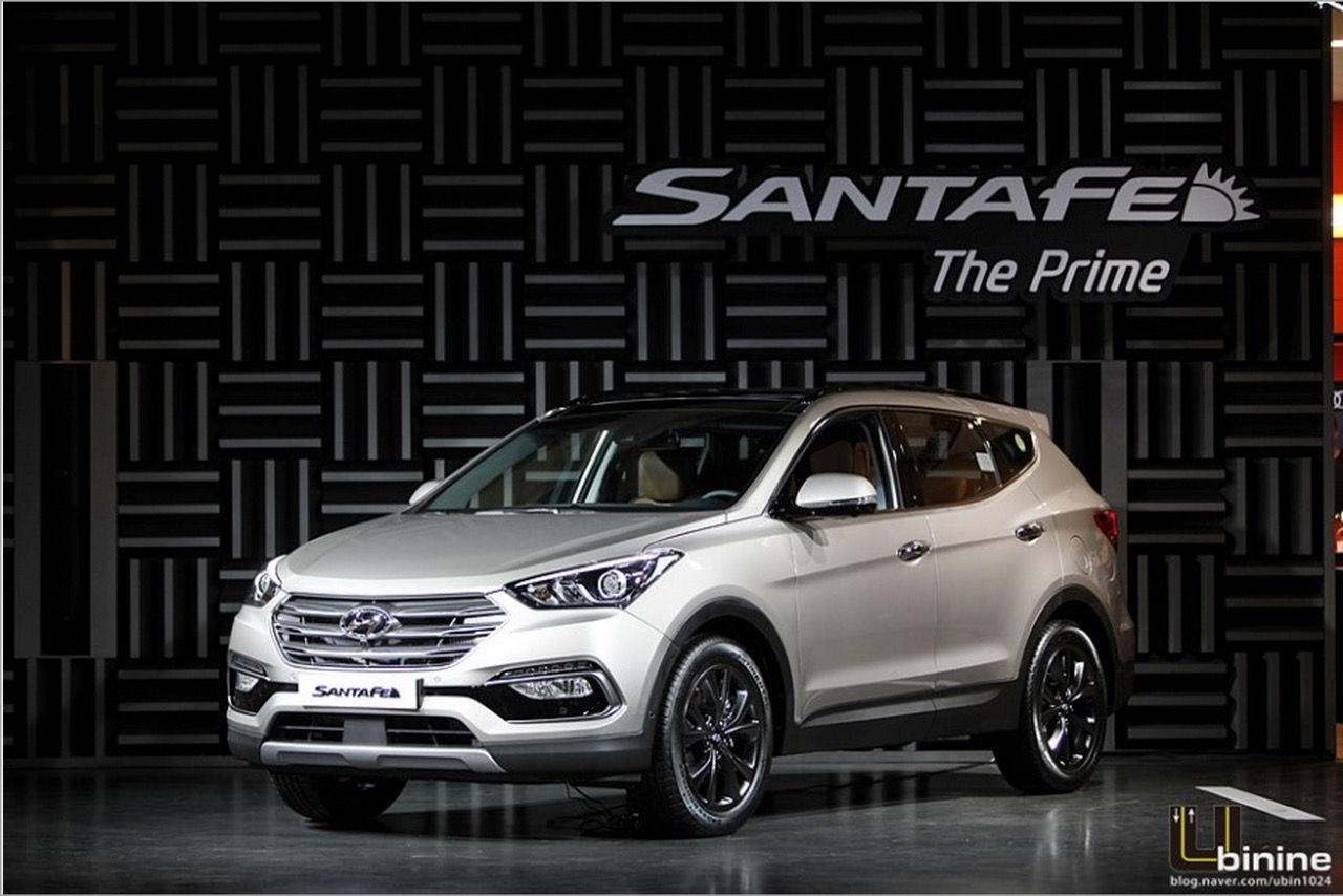 2015 Hyundai Santa Fe Prime Facelift In Images Hyundai Santa Fe Sport Hyundai Santa Fe 2016 Hyundai