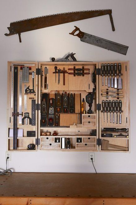 My Hanging Tool Cabinet
