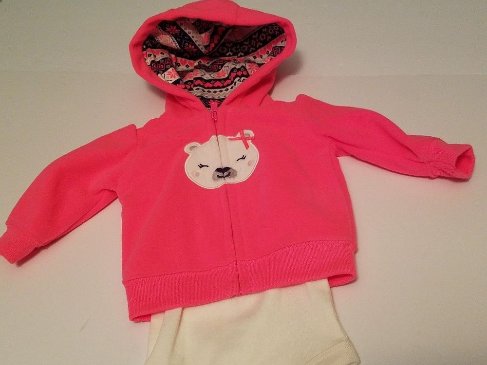 ac666240a664 Just One You By Carters New Born 6-9 lbs Jacket and Sleeper 2pc ...