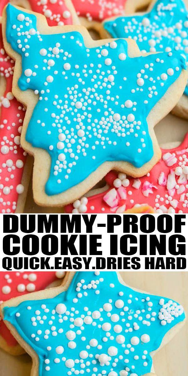 Easy Royal Icing (Sugar Cookie Icing)