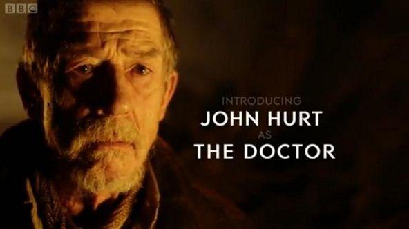 DOCTOR WHO: Revelado quem é o Doutor interpretado por John Hurt
