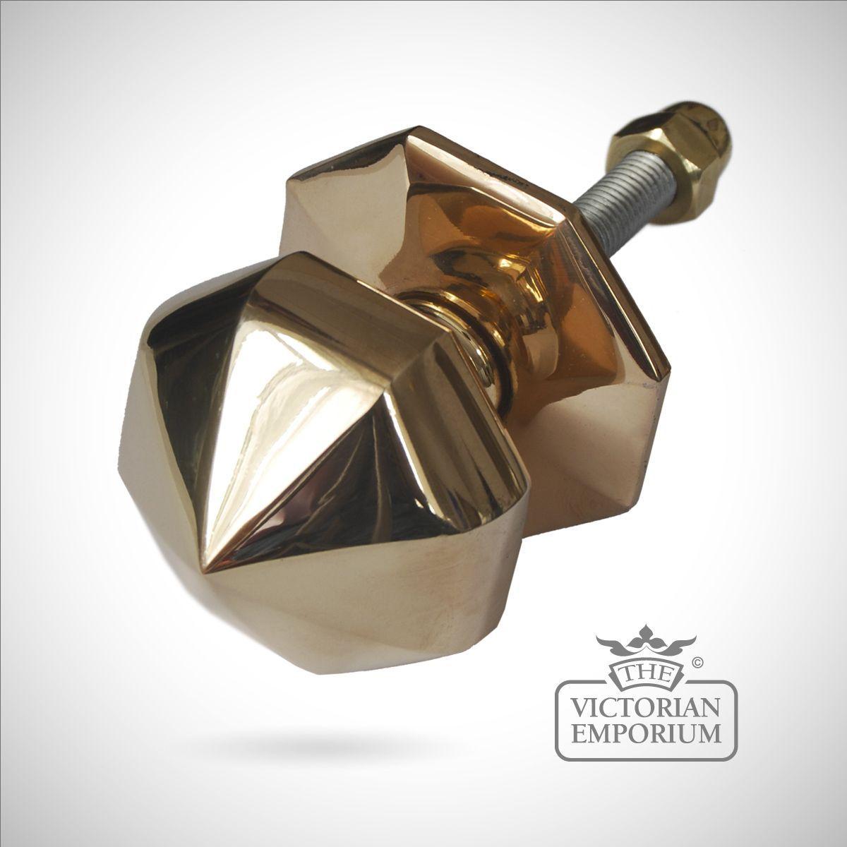 Buy Octagonal Front Door Knob, Door Knobs And Door Handles   Diameter 80mm,  Depth 80mm