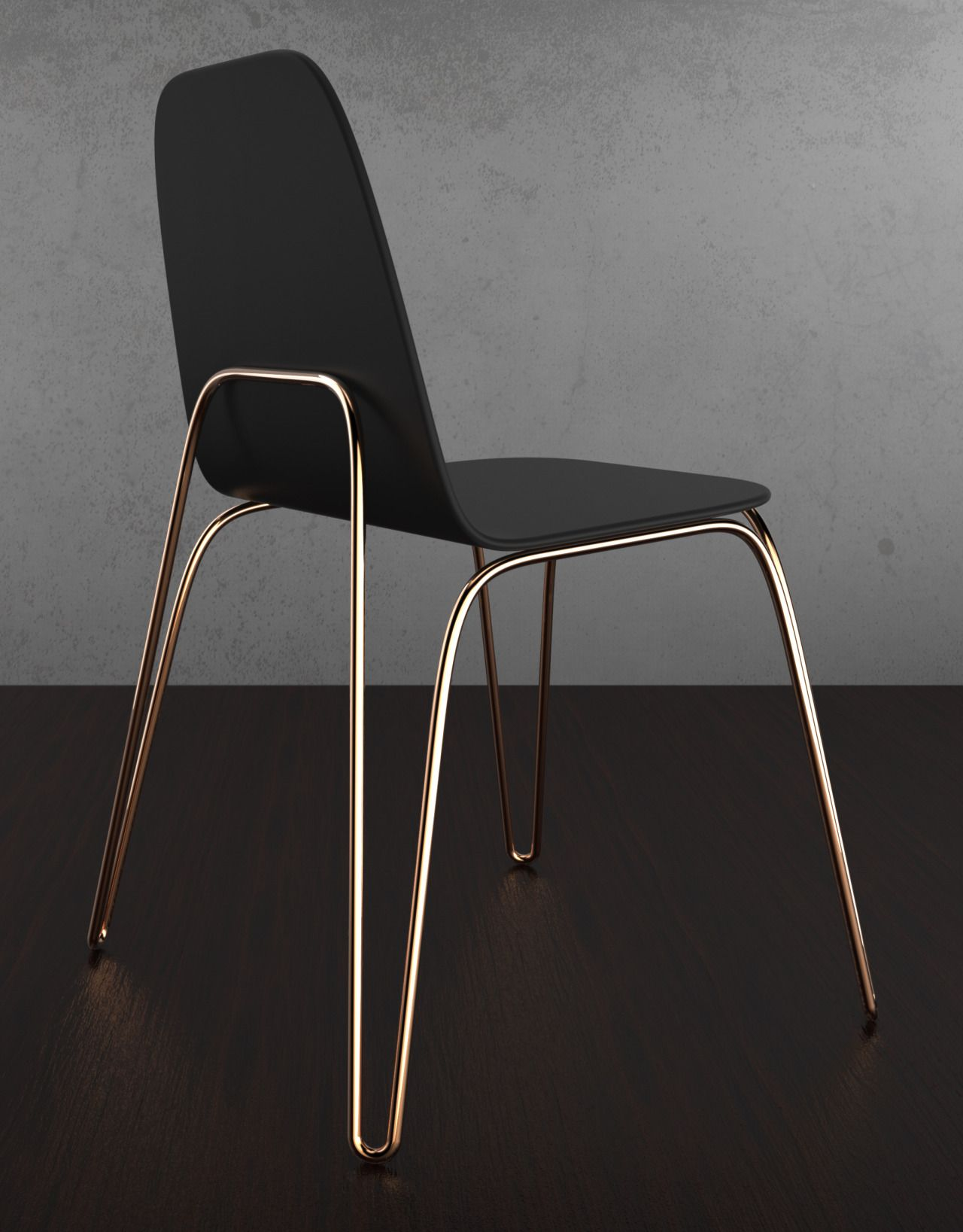 Products we like chair cooper legs frame black for Mobili neri