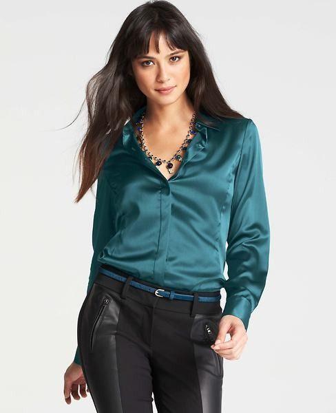 ab5544ba Silk Legacy Blouse | F A S H I O N : MUST WEARS!!! | Blouse, Ruffle ...