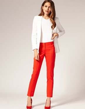 ideas for how to wear my red dress pants | wear. | Pinterest | Red ...