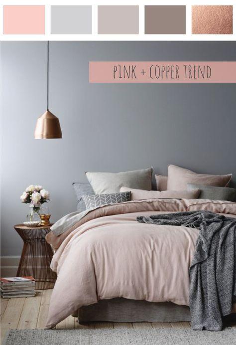 Trend Alert : Pink Copper | Bedrooms | Pinterest