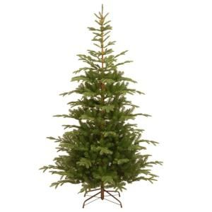 National Tree Company 7 1 2 Ft Feel Real Norwegian Spruce Hinged Artificial Christ Slim Artificial Christmas Trees Unlit Christmas Trees Spruce Christmas Tree