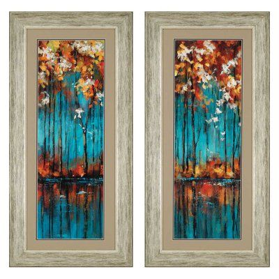 Paragon The Mirror Framed Wall Art - Set of 2 - 3142 | Wall art sets ...