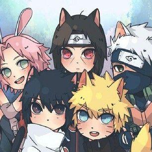 Neko Naruto Characters With Images Anime Naruto Sasuke Sakura
