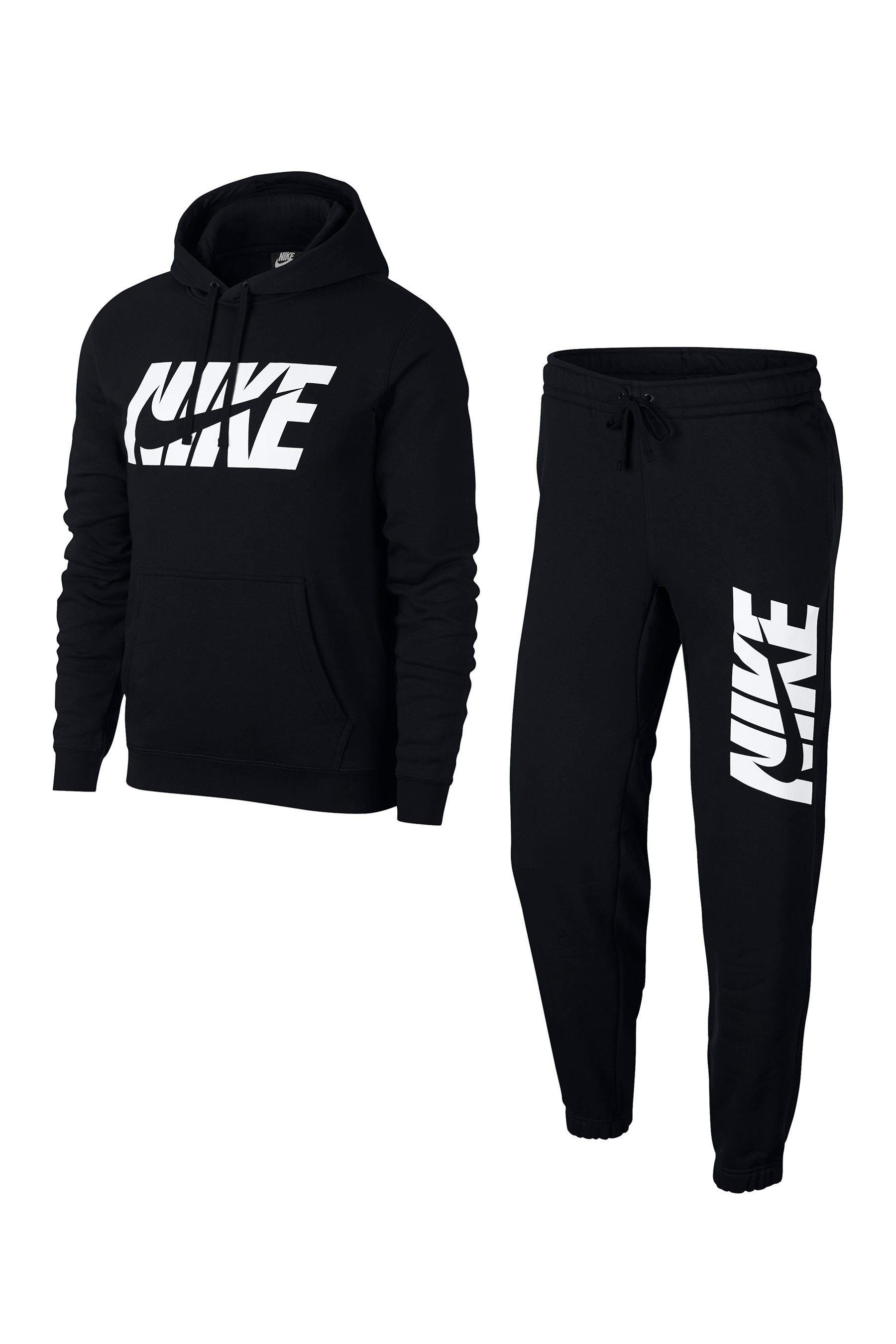gran colección textura clara auténtica venta caliente Mens Nike Fleece Logo Tracksuit - Black | Nike clothes mens, Mens outfits,  Nike outfits
