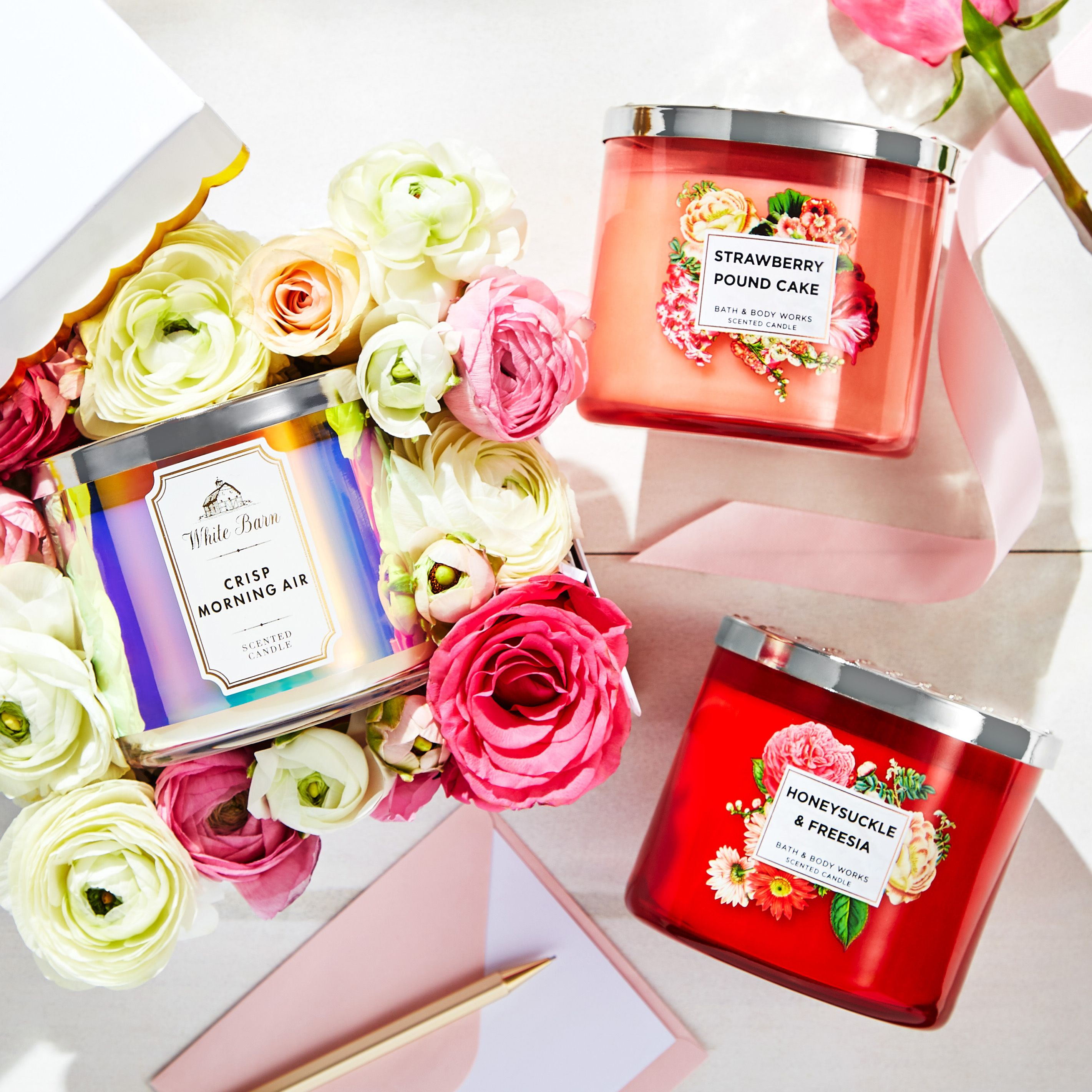 Candles in bloom make the perfect mothers day gift