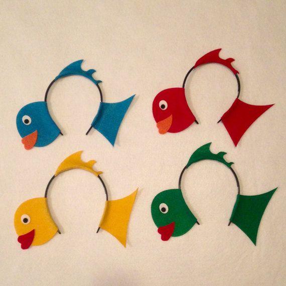 Fish headbands under the sea for Fish head costume