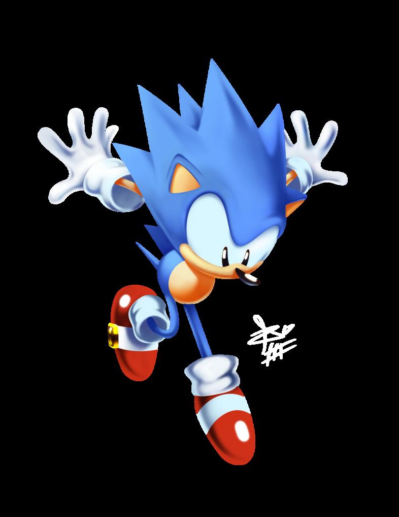 Toei Sonic Classic Render 2 By Tripplejaz Hedgehog Art Sonic Art Classic Sonic