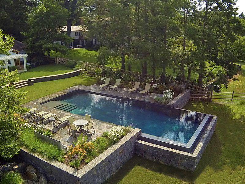 Landscape Design Pool Hillside Google Search Pool Landscape